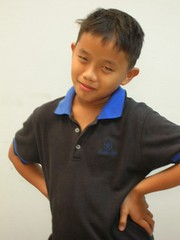 Haris Zakaria as Little Brian