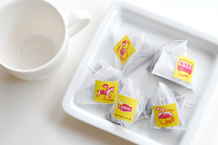 Any bag will do!  :D (yoshiko314) Tags: food cup tea tag illustrated teabag lipton yellowlavel haveateatimetogether