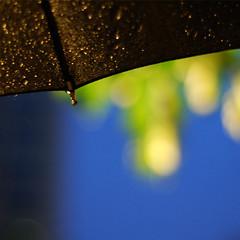 rainy day - night