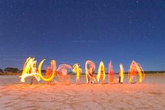 Australia (john white photos) Tags: lake night fire cool salt australia remote eyrepeninsula auselite seenonflickr alemdagqualityonlyclub lifetravel wirdee 67647views