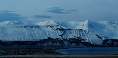Mountains of the north (joningic) Tags: winter sea snow mountains nature iceland skjlfandi