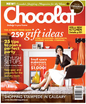 *New* Chocolat Magazine from Canada!