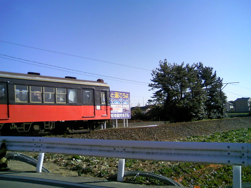 Local train about to close its business because of its minus profit (efforts going on to save it): Choushi City, Chiba, Japan
