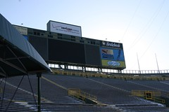 By the player entrance (chubb0rz) Tags: stadium packers greenbay