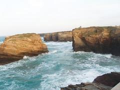 As catedrais con marea alta (Mighty Marta) Tags: galicia lugo playas ascatedrais sanmigueldereinante