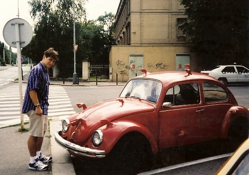 Eric and the VW in Prague