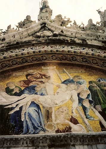Gilded Mosaic on San Marco