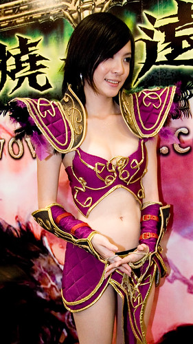 Source of Beauty Night Elf Cosplay World of Warcraft wallpaper