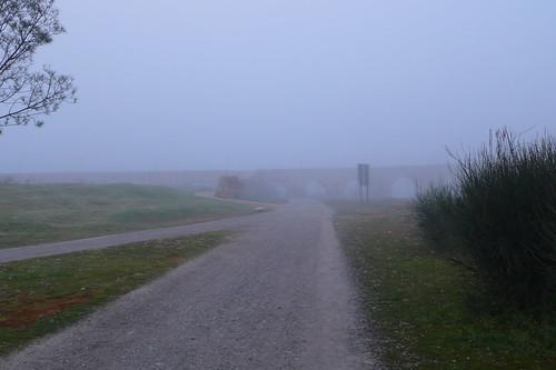 Entrada al puente romano