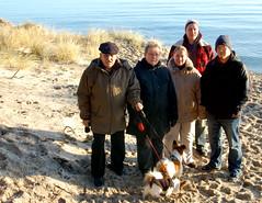 FamilyPortraitOnTheBeach (iwishmynamewasmarsha) Tags: sweden ystad
