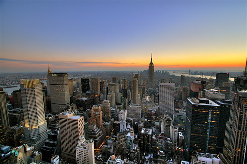wallpaper skyline. Skyline Sunset Wallpaper,