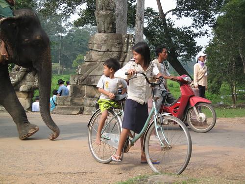 Entrée d'Angkor Thom
