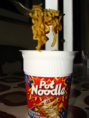 Pot Noodle experiment