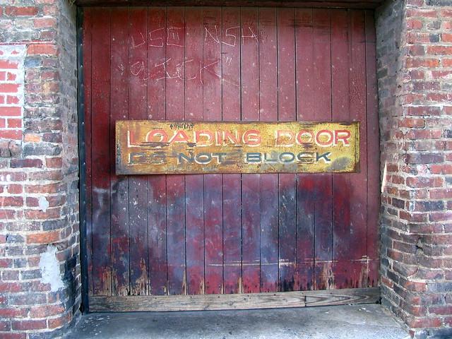 Loading Door