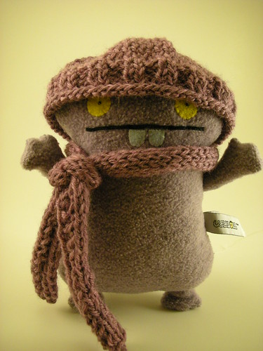 Babo sports his new winter wardrobe