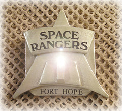 THE ARMOURY- SPACE RANGERS BADGE (CIRCA 2104) (zero g) Tags: sf sculpture television tv ranger space rob scifi robjan sciencefiction accessories popculture eclectic props prop oohshiny spacerangers scifibuffsunleashed scificatchall fireawayanythingartisticasfastasyoucan reallyunlimited forthetotallyobsessiveflickrites thefilmtelevisioncafe areaphiftyone stuffstuffstuff anythingeverything60158photos753memberscounting thebiggestgroupashbysherewhyarentyou forthope spacebadgeforgingisaspacefelonymister