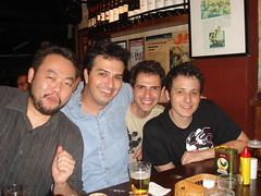 Inagaki, Edney, Fabio Seixas e Carlos Merico (Pensar enlouquece, Interney.net, Versao txt, Brainstorm 9)