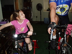 Cycling Gert taunts dad