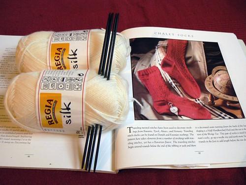 chalet socks - regia silk