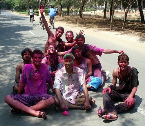 Oh yeah! holi festival is great :-)