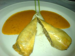 Haggis in Chinese pastry