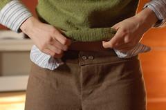 sew u pants, the waistband