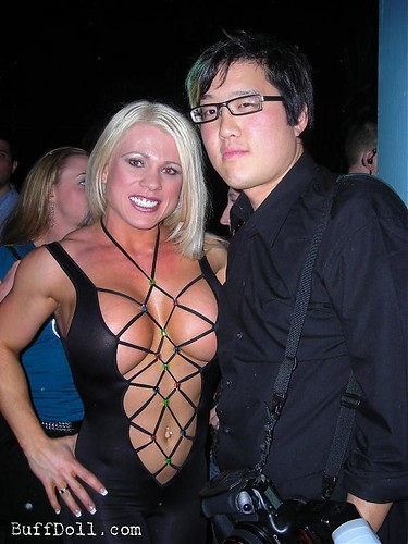 Melissa Dettwiller and Gene Hwang At Arnold Classic Afterparty
