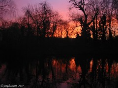 Nikolaus backt / St. Claus is baking (pittigliani2005) Tags: autumn sunset sun pond sonnenuntergang dusk herbst wikipedia nikolaus teich sonne homepage duckpond backen abendrot backing stnikolaus stclaus ententeich wennigsen abenddaemmerung