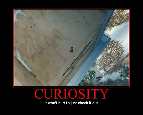Curiosrity Posters - It wont hurt to just check it out, Motivational Poster, demotivational posters, funny motivational posters