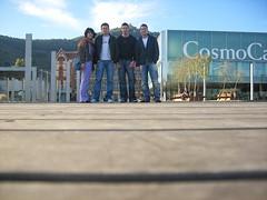 Nosotros en Museo de las Ciencias - Barcelona - España