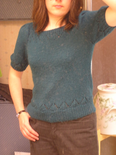 Teal Sweater 1