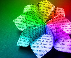 Día de la Mujer (Julián Arias Maetschl) Tags: chile macro mujer origami flor explore papel xd felizdíadelamujer anawesomeshot colorphotoaward impressedbeauty flordeorigami