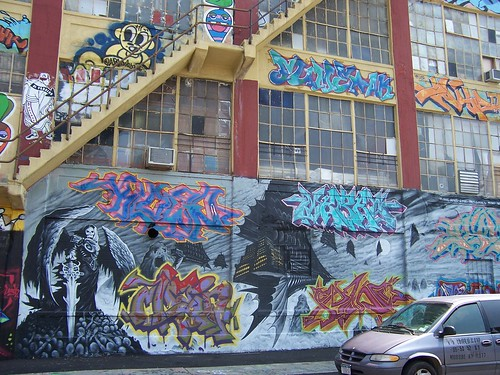 Incredible Graffiti Covered Building (1)