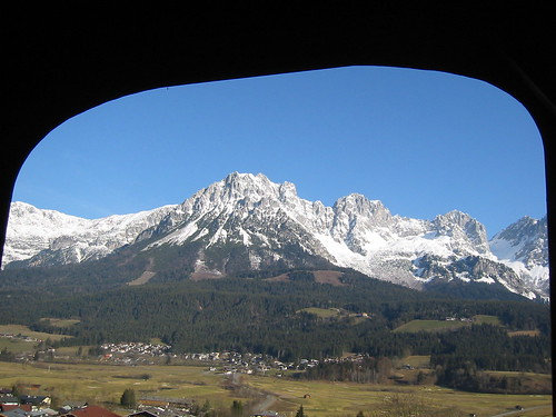 The Wilder Kaiser from the Chapel