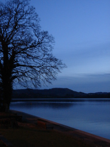 Dusk over Lake Windermere