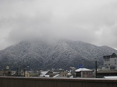 Kinka-zan in Snow and The Disappearance of Gifu Castle