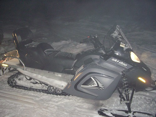 Northern Light tour with Snowmobile