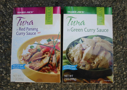 Trader Joe's tuna curries--love them both