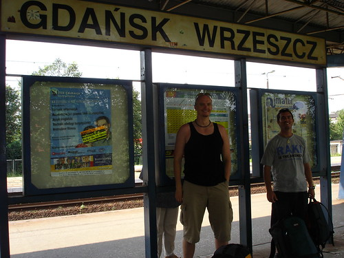 Hubbers and Runty at Gdansk Wrzeszcz train station, Poland