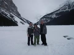 Phil, Me, Ash - Lake Louise (tobysimm) Tags: roadtrip banff sunshinevillage kickinghorse