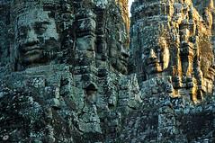 Smiles (Poorfish) Tags: smile cambodia bayon   khmersmile