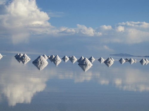Diamonds in the Salar de Uyuni