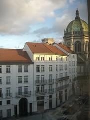 La vista desde la oficina (⌠david⌡) Tags: brussels belgium belgique belgië bruxelles bruselas brussel schaarbeek schaerbeek iglesiadestamaría