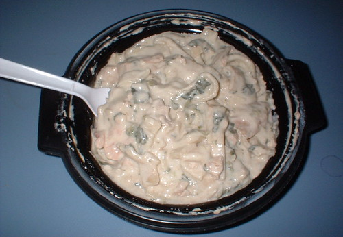 NutriSystem Florentine Sauce with Chicken Fettuccini dinner