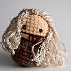 zombie2 (NeedleNoodles) Tags: toy zombie crochet spooky undead etsy amigurumi