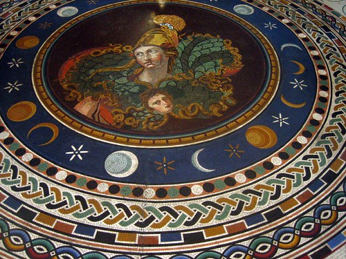 Mosiac at the Vatican Museums