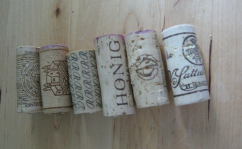 Beginnings of my Wine Cork collection