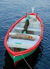The fishermen's boat (Liv ) Tags: travel blue sea 2 italy 3 colors topv111 tag3 1 photo interestingness topv333 nikon tag2 italia tag1 tag ivan explore porto 09 planet puglia bari apulia lazzari laiv kazowie nikond80 pugliaitaly impressedbeauty travelerphotos wowiekazowie laivphoto portosantospirito nikonvr70300