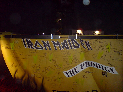 Signature Board at the DDRF 2007
