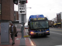 New Metro Extra Bus, Georgia Avenue NW
